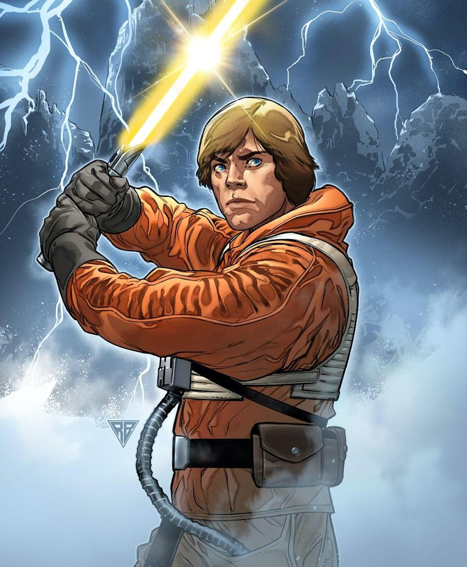 "Catch up with what Luke Skywalker was up to between ""The Empire Strikes Back"" and ""Return of the Jedi"" in Marvel Comics' flagship ""Star Wars"" comic book."