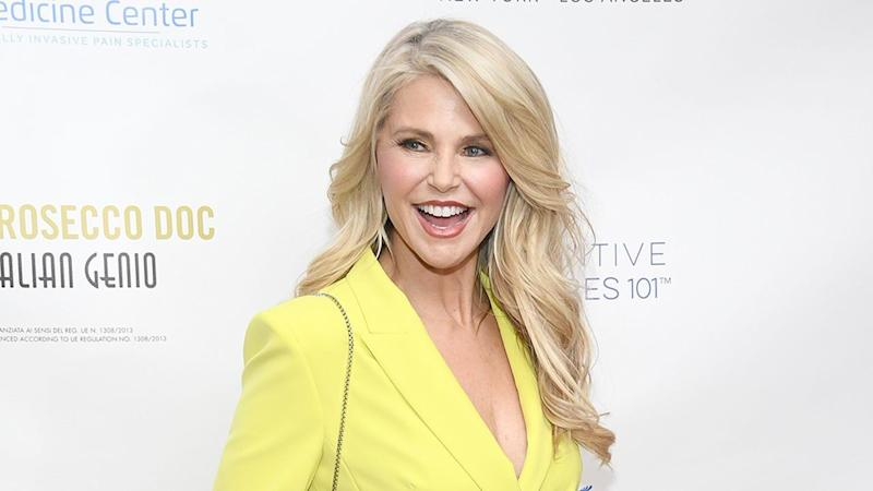 Christie Brinkley Fires Back at 'Conspiracy Theorists' With Epic Selfie Spree Highlighting Her 'DWTS' Injury