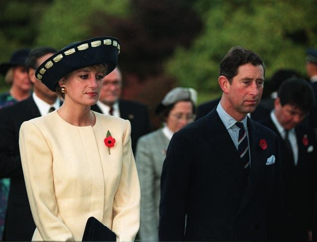 Charles & Diana unhappy in Seoul