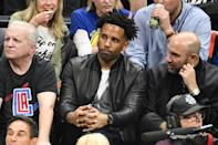 Maverick Carter attends an NBA playoffs basketball game between the Los Angeles Clippers and the Golden State Warriors at Staples Center on April 18, 2019 in Los Angeles, California. (Photo by Allen Berezovsky/Getty Images)