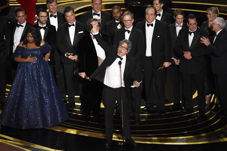 Green Book's cast and crew (Credit: AP)
