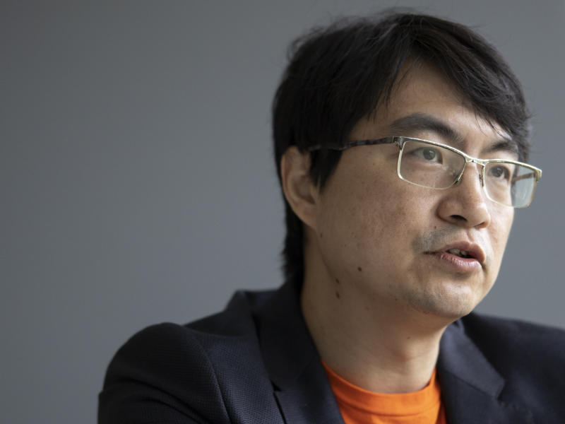 Zhou Junjie, Chief Commercial Officer, Shopee. (PHOTO: Don Wong for Yahoo News Singapore)