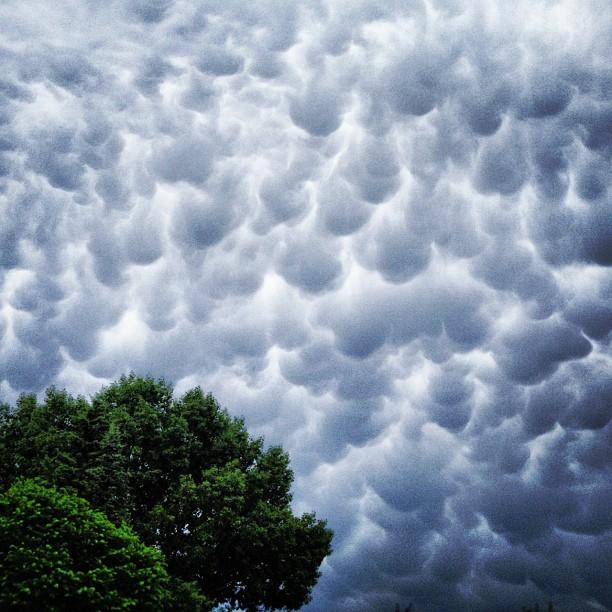 """(Photo courtesy of Maile Crowe/CBC.CA) <br> <br> <a href=""""http://www.cbc.ca/news/canada/saskatchewan/story/2012/06/26/sk-post-storm-sky-120626.html"""" rel=""""nofollow noopener"""" target=""""_blank"""" data-ylk=""""slk:Click here"""" class=""""link rapid-noclick-resp"""">Click here</a> for full story on CBC News"""