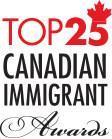 Top 25 Canadian Immigrant Awards Logo (CNW Group/Canadian Immigrant Magazine)