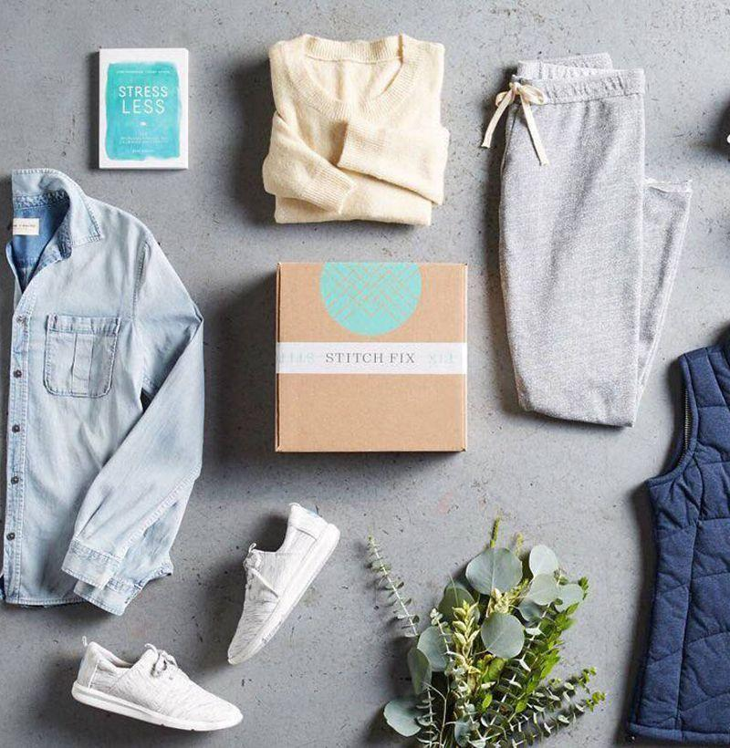 """<p><strong>Stitch Fix</strong></p><p>stitchfix.com</p><p><strong>$20.00</strong></p><p><a href=""""https://go.redirectingat.com?id=74968X1596630&url=https%3A%2F%2Fwww.stitchfix.com%2Fgifts%23ways_to_gift&sref=https%3A%2F%2Fwww.esquire.com%2Flifestyle%2Fg18726497%2Flast-minute-mothers-day-gift-ideas%2F"""" rel=""""nofollow noopener"""" target=""""_blank"""" data-ylk=""""slk:Buy"""" class=""""link rapid-noclick-resp"""">Buy</a></p><p>Stitch Fix sets mom up with a stylist who sends her clothing through the mail, basically doing the shopping for her. What mom likes, she can buy and keep. What she hates, she can send back.<br></p>"""