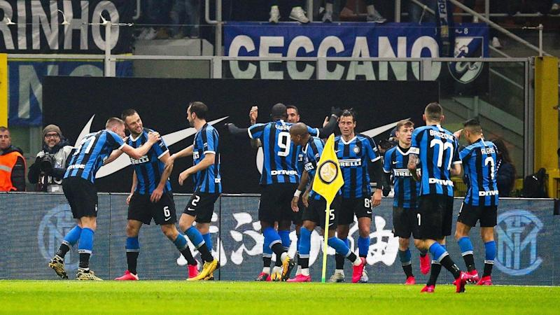 Inter Milan have claimed derby bragging rights over AC Milan with victory at the San Siro