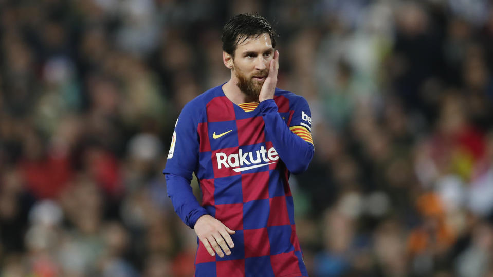 Lionel Messi is the greatest player of all time, and wants to keep winning. That largely conflicts with what's best for Barcelona as a club right now. (AP Photo/Manu Fernandez)