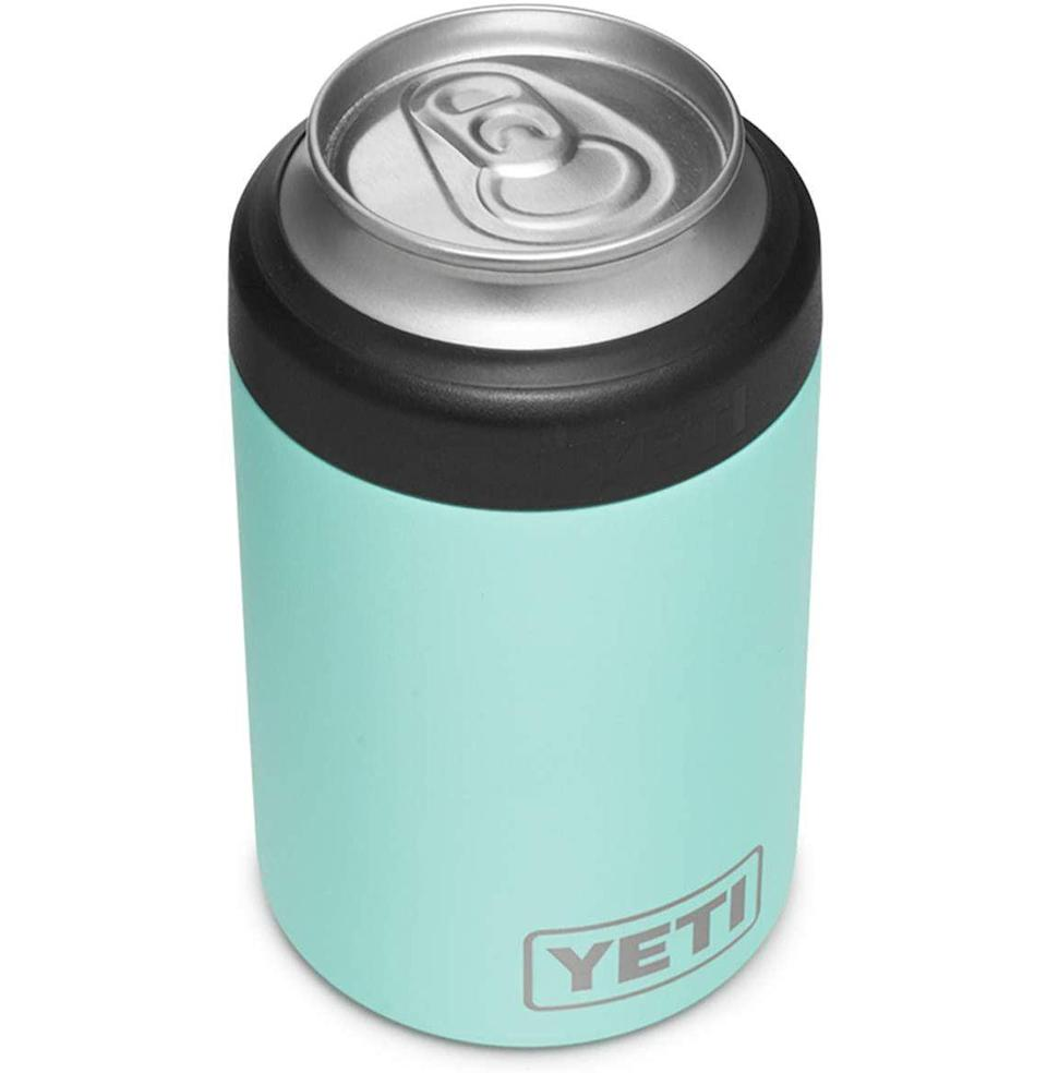 "<p><strong>YETI</strong></p><p>amazon.com</p><p><strong>$24.98</strong></p><p><a href=""https://www.amazon.com/dp/B0842RRYF5?tag=syn-yahoo-20&ascsubtag=%5Bartid%7C10054.g.3222%5Bsrc%7Cyahoo-us"" rel=""nofollow noopener"" target=""_blank"" data-ylk=""slk:Buy"" class=""link rapid-noclick-resp"">Buy</a></p><p>Just because she doesn't chug her beer doesn't mean her beer shouldn't stay ice cold the entire time she nurses it.</p>"