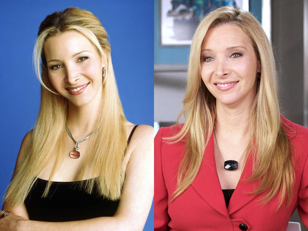 """<b>(3) Lisa Kudrow (Phoebe Buffay) </b><br><br>Kudrow was always a critics' darling; she racked up an armful of awards and nominations (including an Emmy) for her work as sunny space cadet Phoebe Buffay. And before LeBlanc did it in """"Episodes,"""" Kudrow bit the hand that fed her with HBO's savage showbiz comedy """"The Comeback."""" Starring as desperate sitcom actress Valerie Cherish, who agrees to expose her personal life to reality-TV cameras, Kudrow left Phoebe behind and scored another Emmy nomination. Unfortunately for her (and us), """"The Comeback"""" only lasted a single season, but Kudrow still pops up in the occasional big-screen comedy (""""Easy A""""). And she's back on TV as online therapist Fiona Wallice on Showtime's """"Web Therapy,"""" now in its second season. Plus, can you believe she just turned 49 years old? All those Central Perk cappuccinos must've been great for her skin."""