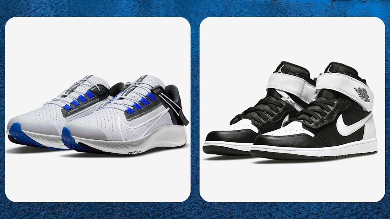 Nike developed its hands-free, FlyEase shoes with the disabled community in mind. (Photos by Nike)