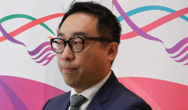 Jason Wong, chairman of the Hong Kong Travel Industry Council, hopes travel agents will lower fees for eco-tourism packages following the government's announcement of subsidy. Photo: Nora Tam
