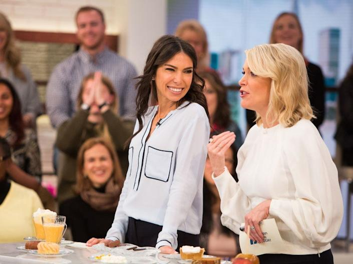 """Tanya Zuckerbrot and Megyn Kelly during 'Megyn Kelly Today' on Tuesday, October 17, 2017. <p class=""""copyright"""">Nathan Congleton/NBCU Photo Bank/NBCUniversal via Getty Images</p>"""