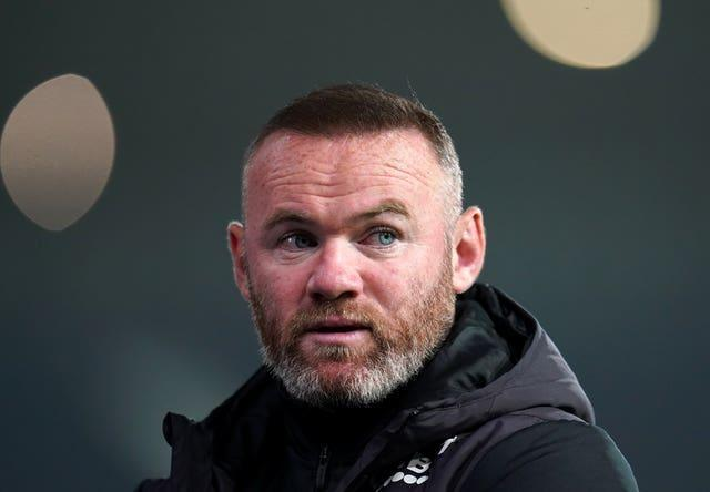 Administrators have met with Derby boss Wayne Rooney, pictured