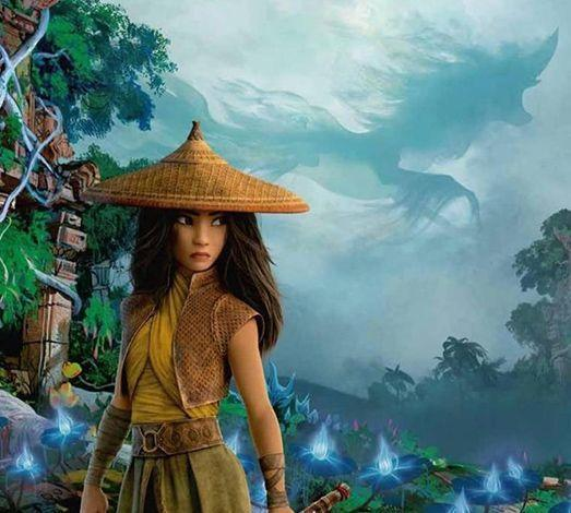"""<p><strong>Release Date:</strong> March 5, 2021</p><p>Disney's first movie of the year is an animated film about Raya, an aspiring protector of a mystical Dragon Gem. When trouble strikes in her world of Kumandra, she must find the last dragon to help save humanity. Kelly Marie Tran stars as Raya, and Awkwafina is the voice of a water dragon. Raya will be in theaters and on Disney+ on March 5, but you have to pay a premium fee to watch it on the streaming service.</p><p><a class=""""link rapid-noclick-resp"""" href=""""https://youtu.be/9BPMTr-NS9s"""" rel=""""nofollow noopener"""" target=""""_blank"""" data-ylk=""""slk:WATCH TRAILER"""">WATCH TRAILER</a></p>"""