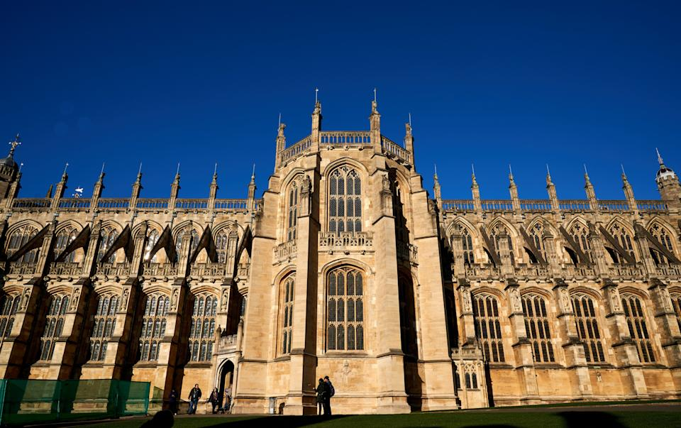 St George's Chapel pictured in December 2019 (Photo: John Walton - PA Images via Getty Images)