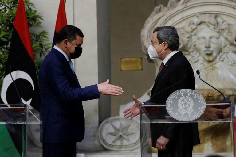 The prime ministers of Italy and Libya held talks on energy, immigration and security