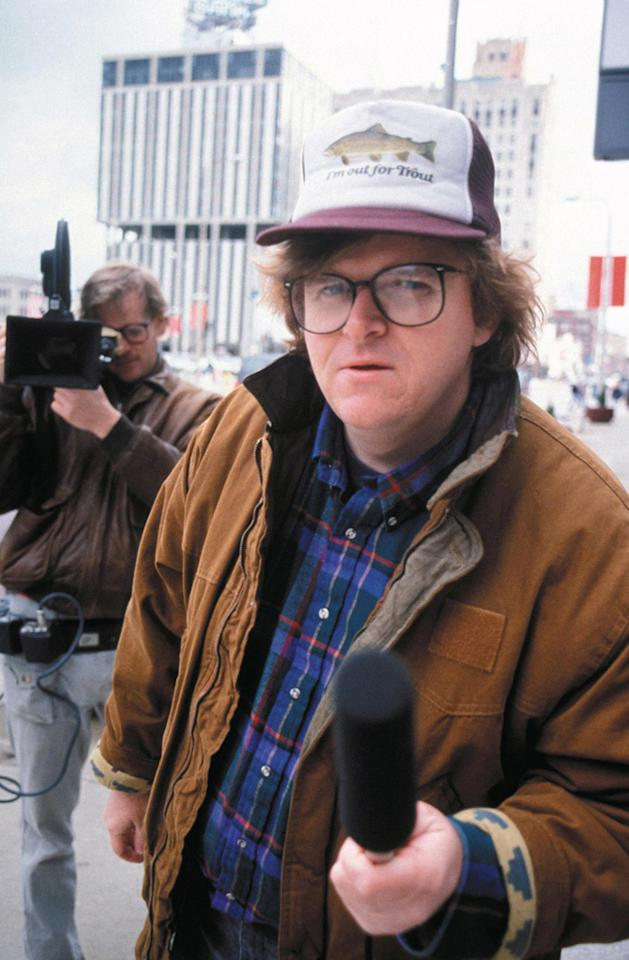 """<a href=""""http://movies.yahoo.com/movie/roger-and-me/"""">ROGER & ME</a> (1989) <br>Directed by: Michael Moore<br><br>Part home movie, part cinematic cherry bomb, part impassioned plea, Michael Moore's acerbic look at GM head Roger Smith's decision to close auto plants in his hometown of Flint, Michigan hit a nerve. The movie, which featured Moore trying to get Smith to come to Flint to see the devastation of his business decision, became the highest grossing documentary at that time (a title that Moore's """"Fahrenheit 9/11"""" currently holds). Made at the tail end of the '80s, """"Roger and Me"""" is a damning, and frequently hilarious, rebuke to the sunny optimism of Reagan's America."""