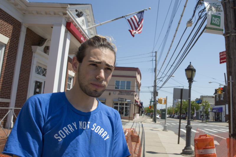 <p> Joseph Amodeo is interviewed by The Associated Press in the New Dorp neighborhood of the Staten Island borough of New York, Wednesday, May 17, 2017. (AP Photo/Mary Altaffer) </p>