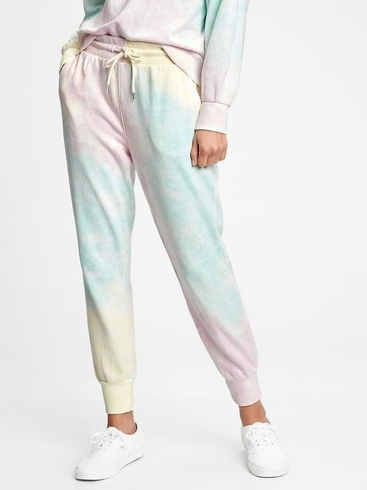 <p>You can never have too much tie-dye in your life, and the <span>Vintage Soft Ribbed Cuff Joggers</span> ($53, originally $60) are so cute!</p>