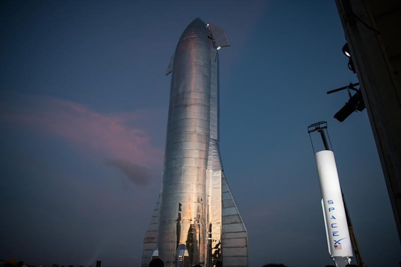 SpaceX CEO Elon Musk Gives Update On Starship Launch Vehicle At Texas Launch Facility