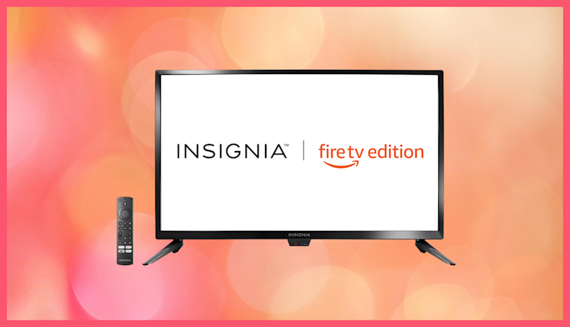 Save 47 percent on this Insignia 24-inch 4K TV—Fire TV Edition. (Photo: Amazon)
