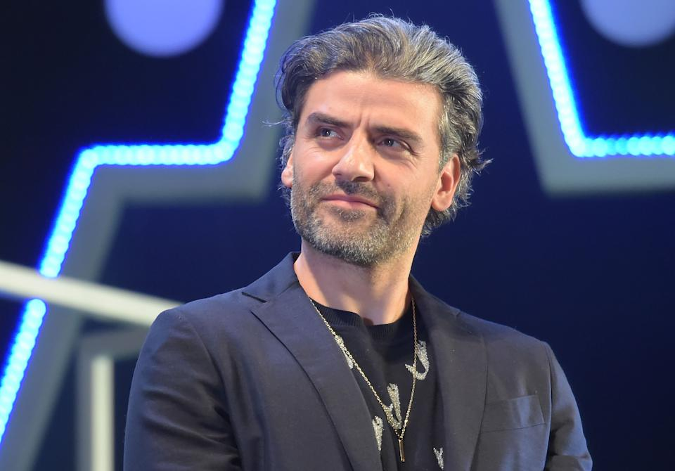 Oscar Isaac attends a special fan event for 'Star Wars: The Rise of Skywalker' on December 11, 2019. (Photo by Jun Sato/WireImage)