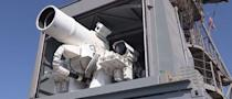 Watch The U.S. Navy's New Laser Weapon Take Out Two Ships [VIDEO]