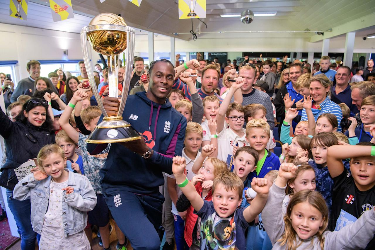 Jofra Archer hails impact of Cricket World Cup victory on nation