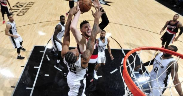 Basket - NBA - Les San Antonio Spurs s'inclinent à domicile contre Portland