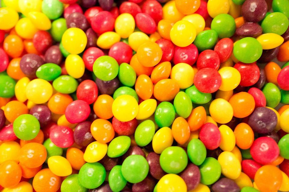 """<p>Did you know that <a href=""""/food/a49226/things-you-need-to-know-before-you-eat-skittles/"""" data-ylk=""""slk:Skittles"""" class=""""link rapid-noclick-resp"""">Skittles</a> originated in Britain? They were only available in the U.K. for five years before being introduced to North America in 1979. Now it's the second most popular candy in the U.S.</p>"""