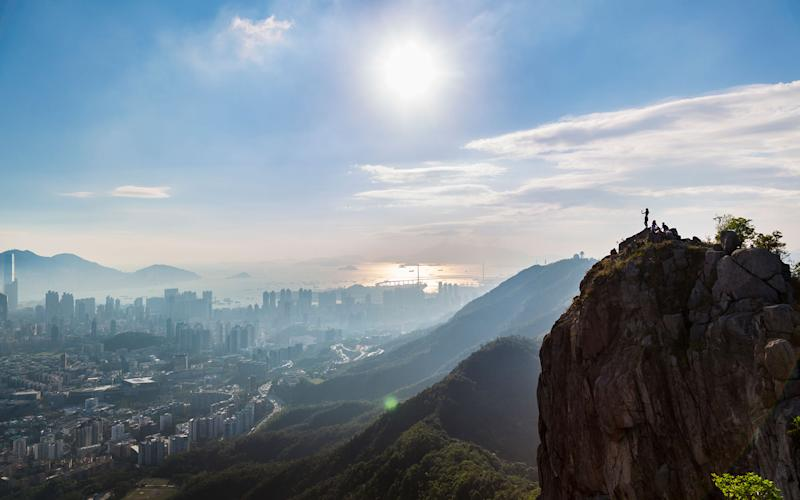 hong kong Lion Rock Country Park - getty
