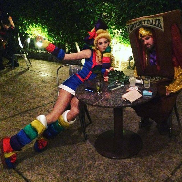 """<p>If you know how to work a sewing machine, this real-life version of Rainbow Brite, complete with puffy boots and sleeves, will brighten every '80s baby's night. But if you're not that crafty, a store-bought version would get you just as many compliments.</p><p><a href=""""https://www.instagram.com/p/9joBvwQlt2/?utm_source=ig_embed&utm_campaign=loading"""" rel=""""nofollow noopener"""" target=""""_blank"""" data-ylk=""""slk:See the original post on Instagram"""" class=""""link rapid-noclick-resp"""">See the original post on Instagram</a></p>"""