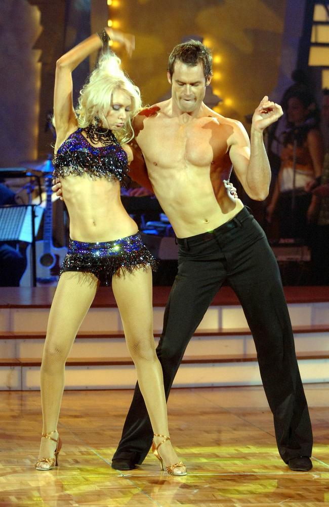 Tom Williams and his partner on Dancing With the Stars