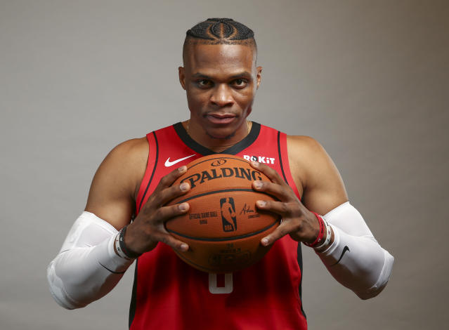 Do not fear Russ in a Rockets uniform this fantasy seaosn. Mandatory Credit: Troy Taormina-USA TODAY Sports