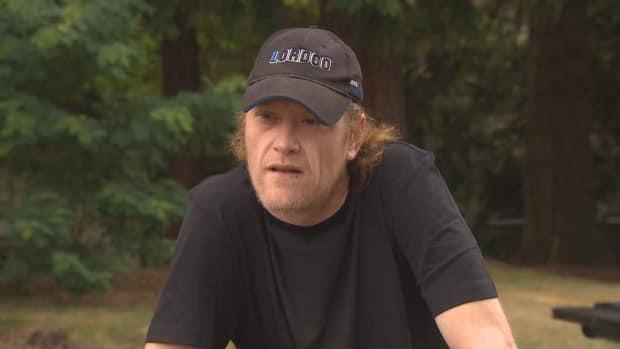'It came in so fast we had nowhere to go,' said Jeff Chapman about the wildfire that swept through his parents' property in Lytton, B.C., on Wednesday. Chapman said his parents died while taking cover from the blaze, though officials haven't been able to confirm their deaths.  (Susan da Silva/CBC - image credit)