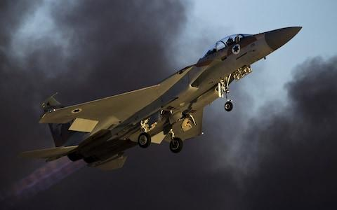 <span>Israeli jets have repeatedly struck in Syria</span> <span>Credit: REUTERS/Amir Cohen/File Photo </span>