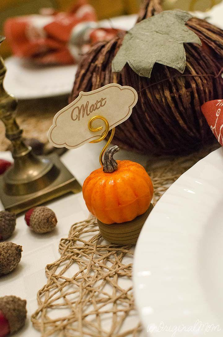 "<p>These petite pumpkin holders are too cute.</p><p><strong>Get the tutorial at <a href=""http://www.unoriginalmom.com/thanksgiving-place-card-holders/"" rel=""nofollow noopener"" target=""_blank"" data-ylk=""slk:Unoriginal Mom"" class=""link rapid-noclick-resp"">Unoriginal Mom</a>.</strong></p><p><strong><strong><a class=""link rapid-noclick-resp"" href=""https://www.amazon.com/Inches-Letter-Sheets-Smooth-216gsm/dp/B00RU6IGAS?tag=syn-yahoo-20&ascsubtag=%5Bartid%7C10050.g.1538%5Bsrc%7Cyahoo-us"" rel=""nofollow noopener"" target=""_blank"" data-ylk=""slk:SHOP WHITE CARD STOCK"">SHOP WHITE CARD STOCK</a></strong><br></strong></p>"