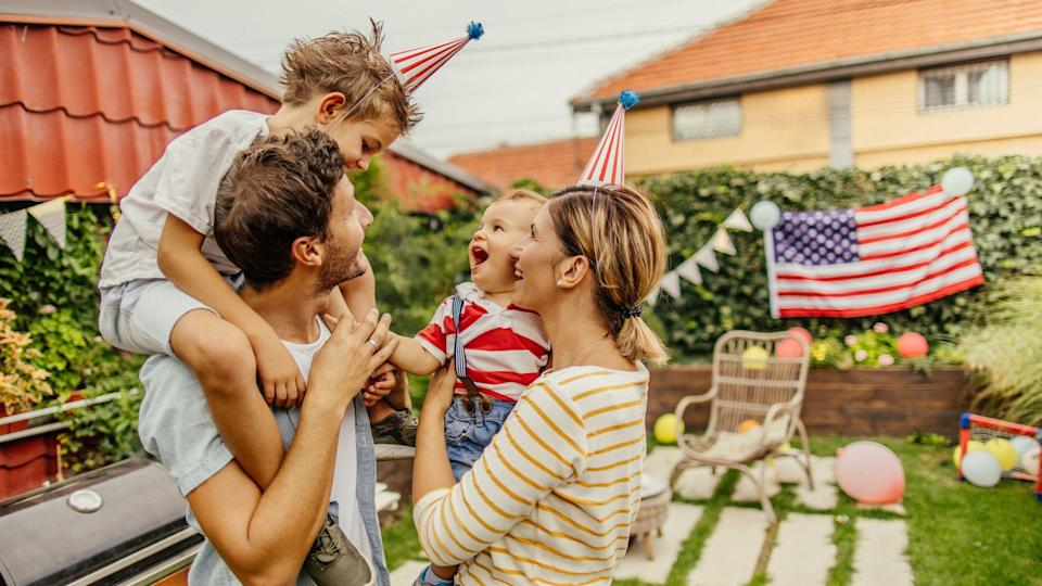 """<p>Independence Day is almost here, which means only one thing: It's time to celebrate with some <a href=""""https://www.goodhousekeeping.com/holidays/g2069/4th-of-july-recipes/"""" rel=""""nofollow noopener"""" target=""""_blank"""" data-ylk=""""slk:Fourth of July recipes"""" class=""""link rapid-noclick-resp"""">Fourth of July recipes</a>, great company, and the best Fourth of July activities! Of course, the holiday might look a little different this year, due to the ongoing coronavirus pandemic — but that certainly doesn't mean you can't still have a blast on summer's best holiday. In fact, with plenty of fun family activities and festive at-home ideas, you can still make this year's Fourth of July the best-ever yet — we're talking backyard barbecues, <a href=""""https://www.goodhousekeeping.com/home/craft-ideas/g2477/american-crafts/"""" rel=""""nofollow noopener"""" target=""""_blank"""" data-ylk=""""slk:patriotic crafts"""" class=""""link rapid-noclick-resp"""">patriotic crafts</a>, and gooey s'mores over a campfire! </p><p>From trying some <a href=""""https://www.goodhousekeeping.com/food-recipes/g413/great-grilling-recipes/"""" rel=""""nofollow noopener"""" target=""""_blank"""" data-ylk=""""slk:delicious grilling recipes"""" class=""""link rapid-noclick-resp"""">delicious grilling recipes</a> to having a <a href=""""https://www.goodhousekeeping.com/life/entertainment/g27656502/4th-of-july-movies/"""" rel=""""nofollow noopener"""" target=""""_blank"""" data-ylk=""""slk:cozy movie night"""" class=""""link rapid-noclick-resp"""">cozy movie night</a> in your backyard, pick one of these patriotic activities to enjoy with the whole family — and soon enough you'll be celebrating America's birthday in true star-spangled style. No matter what activity your family chooses, though, you're guaranteed to have a great time — because as long as you're having fun with your loved ones (and eating good food, of course!), it will definitely be an Independence Day well spent. </p>"""