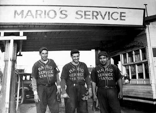 "Mario Service Station was among the teams playing in East L.A. <span class=""copyright"">(Cal State Los Angeles library)</span>"