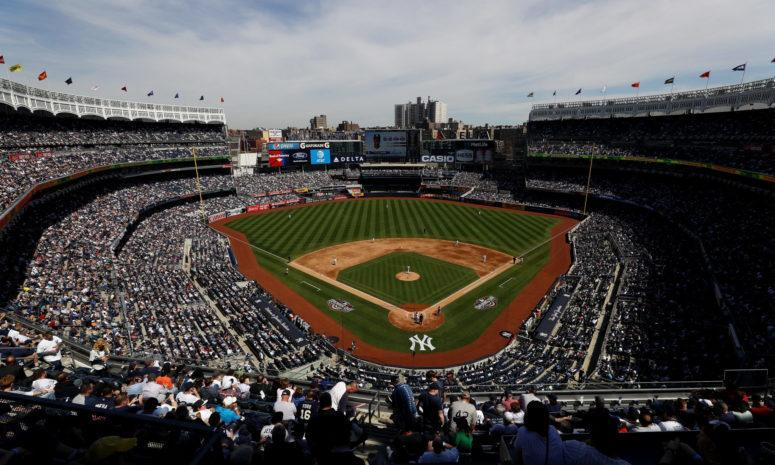 A general view of Yankee Stadium.