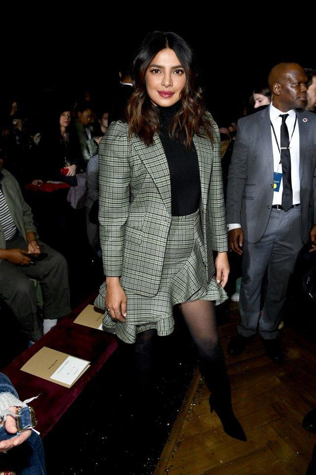 Priyanka Chopra at Michael Kors show