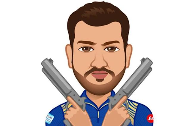 Ace India cricketer Rohit Sharma was involved in a hilarious Twitter exchange with his Indian Premier League (IPL) side Mumbai Indians ahead of the eleventh edition of the cash-rich league.
