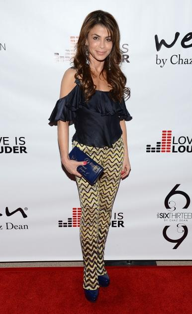 Paula Abdul attends Chaz Dean's Birthday Party Benefiting Love Is Louder in Los Angeles on August 18, 2012 -- Getty Premium