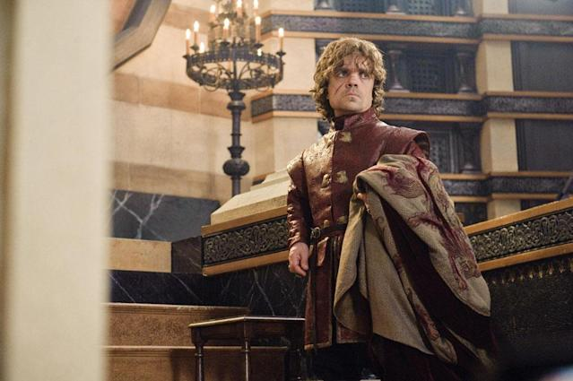 "Peter Dinklage in the ""Game of Thrones"" episode, ""Second Sons."""