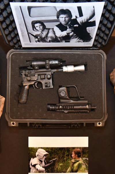 """The executive director of Julien's Auctions, Martin Nolan, believes the price for Solo's blaster """"could go much higher"""""""