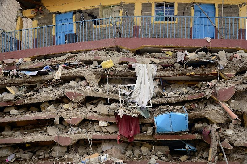 Kenya: At least 10 missing after Nairobi building collapses