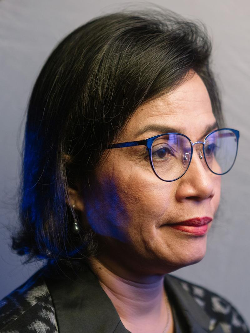 Indrawati Reappointed Finance Minister in Indonesia Cabinet