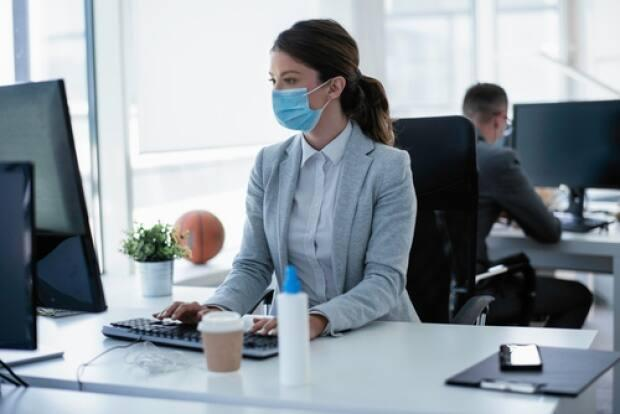 Masks are mandatory as of Friday in all common areas of workplaces. (Shutterstock - image credit)