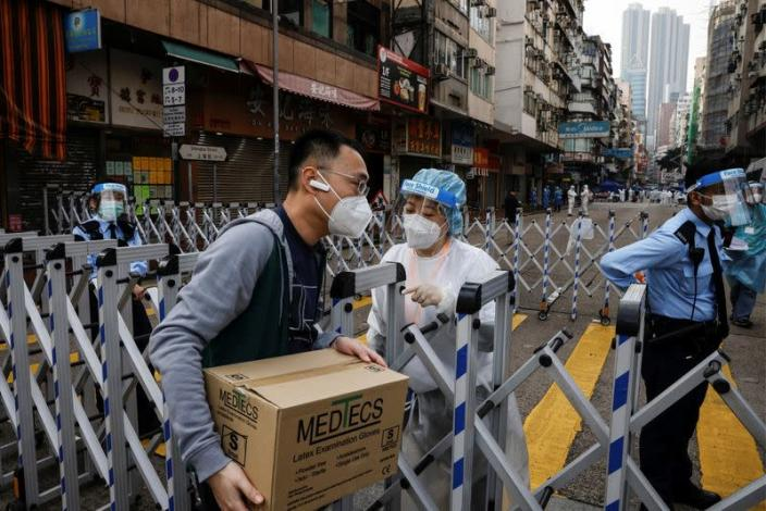Outbreak of the coronavirus disease (COVID-19), in Hong Kong