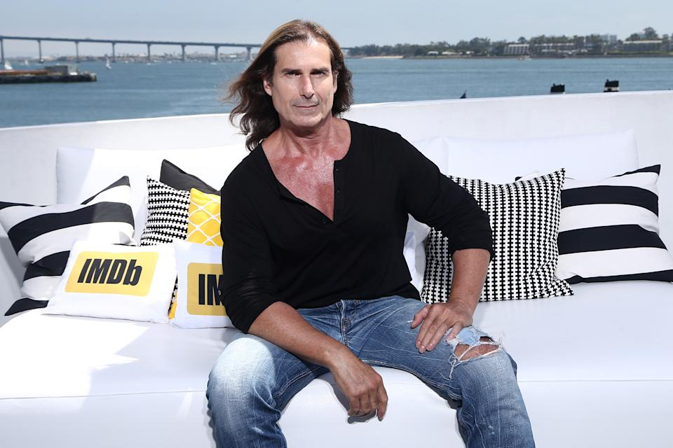 SAN DIEGO, CA - JULY 21:  Actor Fabio Lanzoni on the #IMDboat at San Diego Comic-Con 2017 at The IMDb Yacht on July 21, 2017 in San Diego, California.  (Photo by Tommaso Boddi/Getty Images for IMDb)